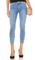 Paige Hoxton Crop. Jukebox Distressed And Ragged Hem