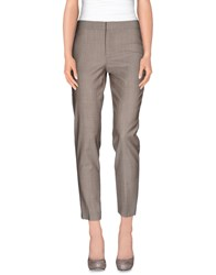 Strenesse Trousers Casual Trousers Women Grey