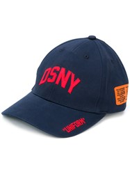 Heron Preston Dsny Baseball Cap Blue