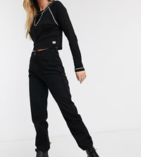 Reclaimed Vintage The '91 Mom Jean In Washed Black