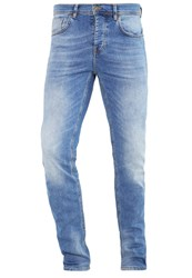 Pier One Slim Fit Jeans Light Blue Blue Denim
