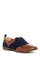 Restricted Betsy Two Tone Oxford Brown