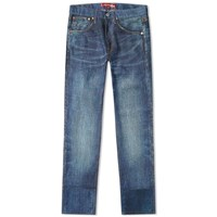 Junya Watanabe Man Eye X Levi's Damaged Jean Blue