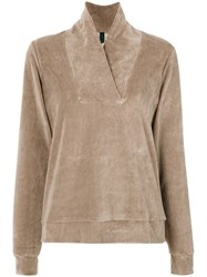 Lygia And Nanny Aspargus Velour Jacket Cotton Polyester Unavailable