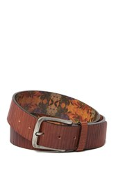 Tommy Bahama 40Mm Italian Leather Belt Tan