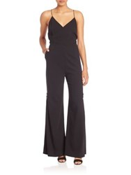Creatures Of The Wind Daise Crossback Jumpsuit Black