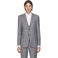 Tiger Of Sweden Grey Wool Blazer
