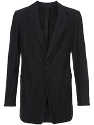 Forme D'expression Elongated Longsleeved Jacket Black