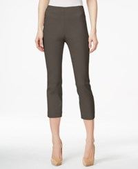 Styleandco. Style Co. Pull On Capri Pants Only At Macy's Brown Clay