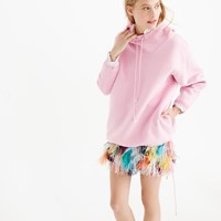 J.Crew Pre Order Collection Cashmere Hoodie In Romantic Pink