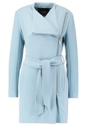 Mbym Eveleen Short Coat Smoke Light Blue