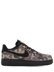 Nike Air Force 1 '07 Camo Sneakers Camouflage