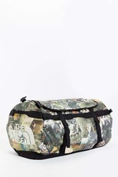 The North Face Large Base Camp Duffel Bag Brown Multi