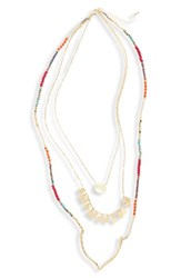 Panacea Women's Multistrand Necklace