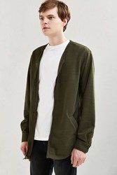 Publish Gerik Zip Cardigan Olive