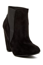 Yoki Turner Heeled Bootie Black