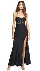 Fame And Partners The Mariposa Dress Black