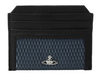 Vivienne Westwood Credit Card Holder Blue Credit Card Wallet