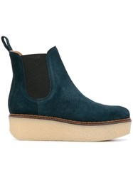 Flamingos Gibus Ankle Boots Blue