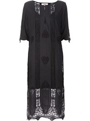 Figue 'Corrine' Kaftan Dress Black