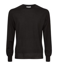 Brioni Cashmere And Silk Jumper Male Black