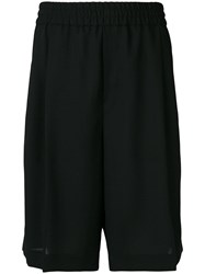 Mcq By Alexander Mcqueen Loose Fit Shorts Black