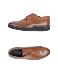 Cavallini Lace Up Shoes Brown