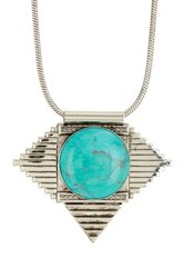 Yochi Design Cleopatra Turquoise Necklace Blue