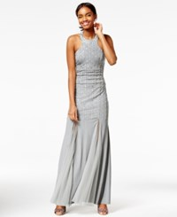 Say Yes To The Prom Juniors' Embellished Mermaid Gown A Macy's Exclusive Grey