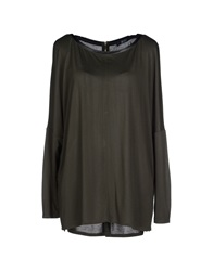 Guess By Marciano T Shirts Military Green