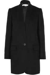 Stella Mccartney Bryce Wool Blend Coat Black