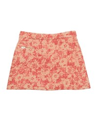 Bonpoint Abstract Floral Tweed Skirt Pink