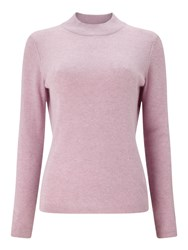 Eastex Textured Turtle Neck Jumper Pink