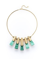 Shanghai Tang Tribal Deco Necklace Gold