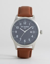 Ben Sherman Tan Leather Strap Watch Tan