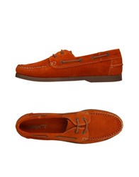 Equipe 70 Equipe' Lace Up Shoes Orange
