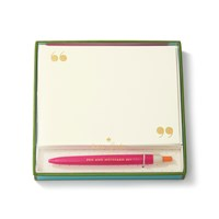 Kate Spade Pen And Notecard Set Pink