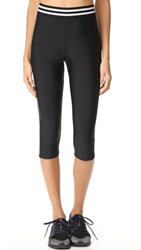 Onzie Elastic Band Capri Leggings Black