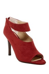 Adrienne Vittadini Gratian Ankle Strap Pump Red