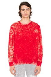Cotton Citizen The Cobain Crewneck Red