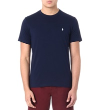 Ralph Lauren Classic Cotton Jersey T Shirt Navy