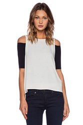 Autograph Addison Fera Off Shoulder Top White
