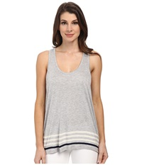 Soft Joie Maxton Heather Grey Porcelain Women's Sleeveless White