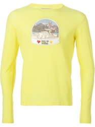 Walter Van Beirendonck Vintage Snow Globe Long Sleeve T Shirt Yellow And Orange