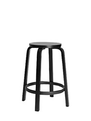Artek Bar Stool 64 Black