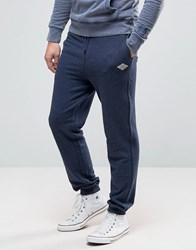Tokyo Laundry Slim Fit Cuffed Jogger With Badge Logo Navy