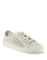 Tretorn Tournament Net Lace Up Sneakers Ivory