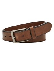 Fossil Patrick Leather Belt Brown