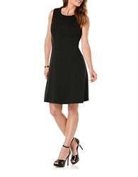 Rafaella Ponte Knit Dress Black