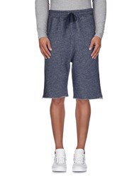 Crooks And Castles Trousers Bermuda Shorts Men Blue